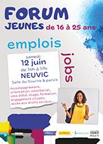 Affiche Flyer Forum Jeunesse 12juin
